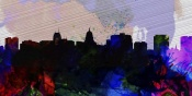 NAXART Studio - Madison City Skyline