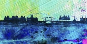 NAXART Studio - Amsterdam City Skyline