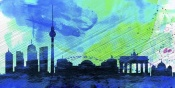 NAXART Studio - Berlin City Skyline