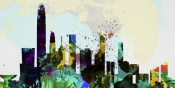NAXART Studio - Hong Kong City Skyline