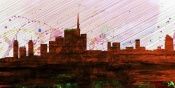 NAXART Studio - Milan City Skyline