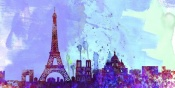 NAXART Studio - Paris City Skyline