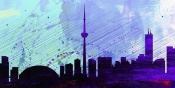 NAXART Studio - Toronto City Skyline