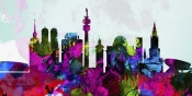 NAXART Studio - Munich City Skyline
