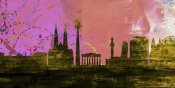 NAXART Studio - Vienna City Skyline