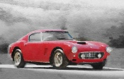 NAXART Studio - 1960 Ferrari 250 GT SWB Watercolor