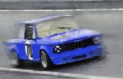 NAXART Studio - 1969 BMW 2002 Racing Watercolor