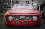 NAXART Studio - 1967 Alfa Romeo GTV Watercolor