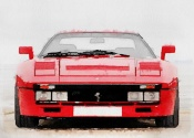 NAXART Studio - 1980 Ferrari 288 GTO Front Watercolor
