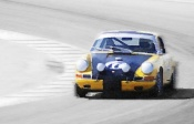NAXART Studio - Porsche 911 on Race Track Watercolor