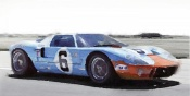 NAXART Studio - Ford GT 40 Gulf Watercolor