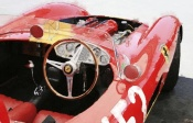 NAXART Studio - Ferrari Cockpit Monterey Watercolor