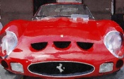 NAXART Studio - 1962 Ferrari 250 GTO Front Watercolor