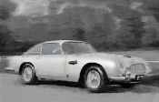 NAXART Studio - Aston Martin DB5 Watercolor