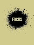 NAXART Studio - Focus Poster Grey