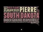 NAXART Studio - South Dakota Word Cloud 2