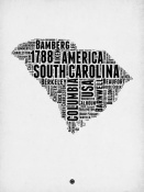 NAXART Studio - South Carolina Word Cloud 1