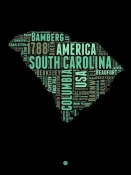 NAXART Studio - South Carolina Word Cloud 2