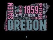 NAXART Studio - Oregon Word Cloud 2