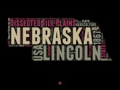 NAXART Studio - Nebraska Word Cloud 1