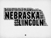 NAXART Studio - Nebraska Word Cloud 2