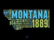 NAXART Studio - Montana Word Cloud 1