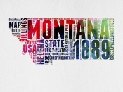 NAXART Studio - Montana Word Cloud 2