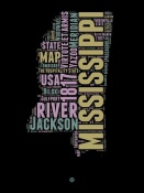 NAXART Studio - Mississippi Word Cloud 1