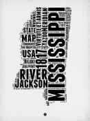 NAXART Studio - Mississippi Word Cloud 2