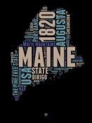 NAXART Studio - Maine Word Cloud 1