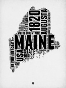 NAXART Studio - Maine Word Cloud 2