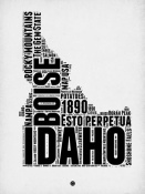 NAXART Studio - Idaho Word Cloud 2