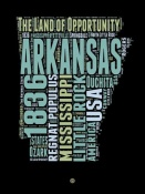 NAXART Studio - Arkansas Word Cloud 1