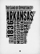 NAXART Studio - Arkansas Word Cloud 2