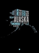 NAXART Studio - Alaska Word Cloud 1