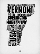 NAXART Studio - Vermont Word Cloud 2