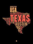 NAXART Studio - Texas Word Cloud 1