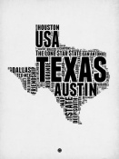 NAXART Studio - Texas Word Cloud 2