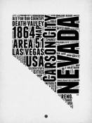 NAXART Studio - Nevada Word Cloud 2