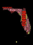 NAXART Studio - Florida Word Cloud 1