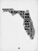 NAXART Studio - Florida Word Cloud 2