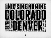 NAXART Studio - Denver Word Cloud 2