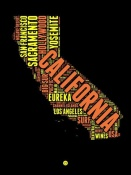 NAXART Studio - California Word Cloud 1