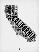 NAXART Studio - California Word Cloud 2
