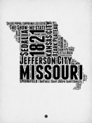 NAXART Studio - Missouri Word Cloud 2