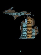 NAXART Studio - Michigan Word Cloud 1