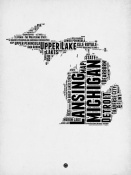 NAXART Studio - Michigan Word Cloud 2