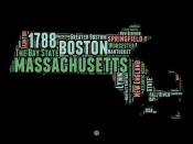 NAXART Studio - Massachusetts Word Cloud 1