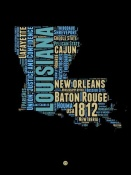 NAXART Studio - Louisiana Word Cloud 1