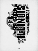 NAXART Studio - Illinois Word Cloud 2